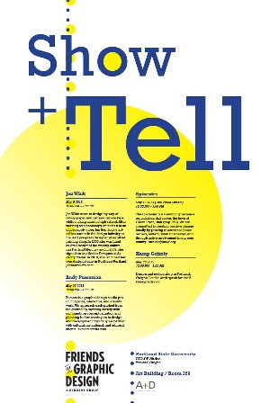 Show and Tell Poster